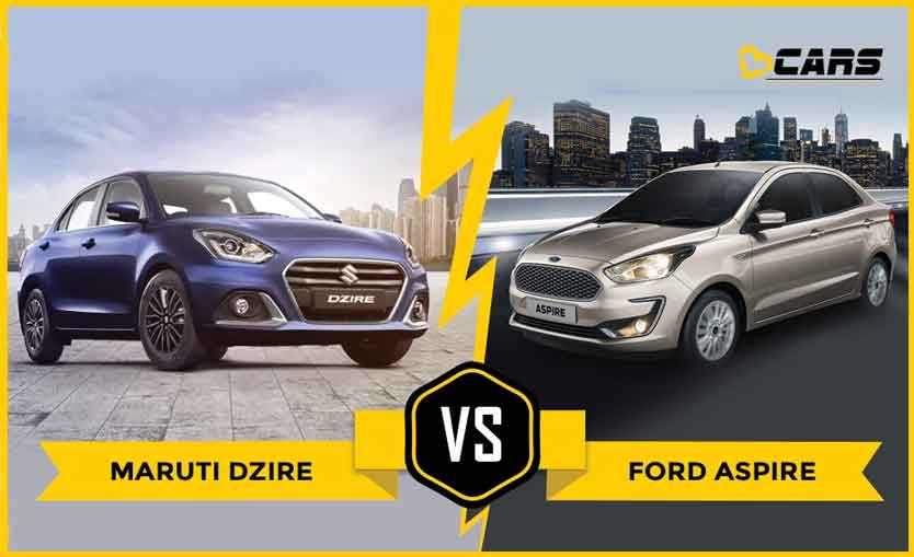 Dzire 2020 vs Aspire 2020