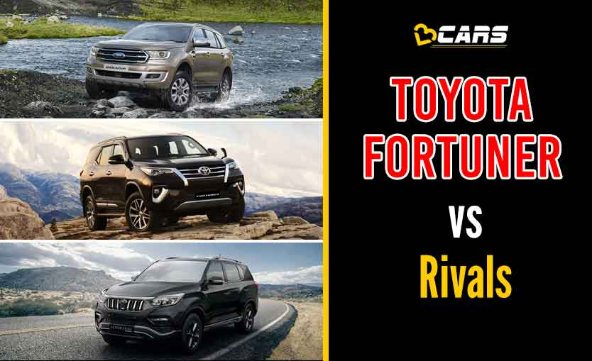 Toyota Fortuner 2020 vs Competition