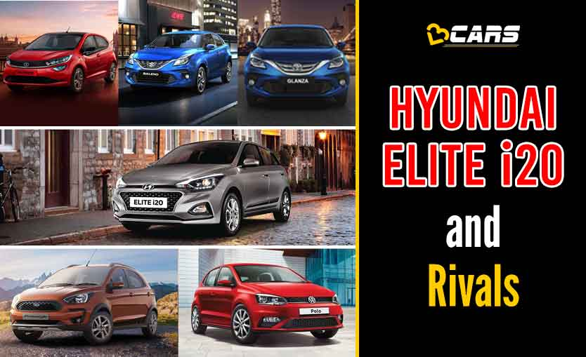 Hyundai Elite i20 2020 vs Competition