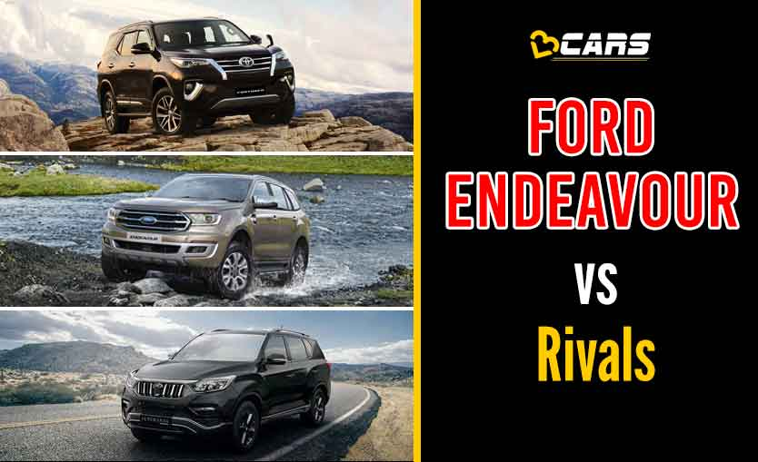 Ford Endeavour vs Rivals