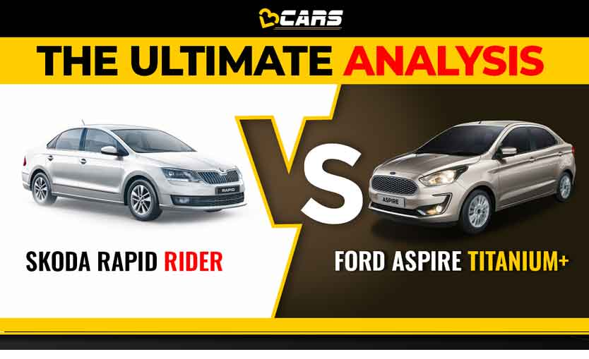 Skoda Rapid vs Ford Aspire