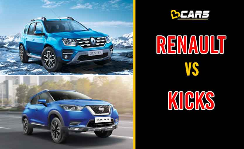 Renault Duster vs Nissan Kicks