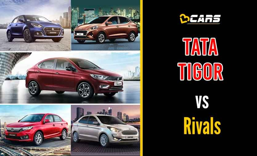 Tata Tigor 2020 Petrol vs Competition