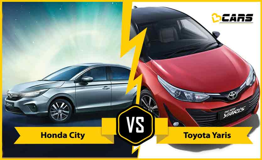 2020 Honda City vs Toyota Yaris