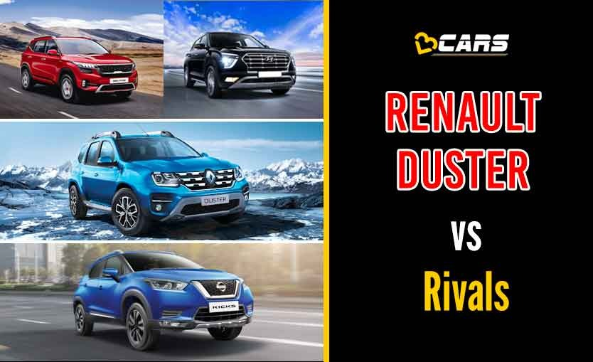 Renault Duster 2020 Petrol vs Competition