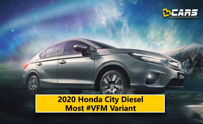 2020 Honda City 5th Gen Diesel