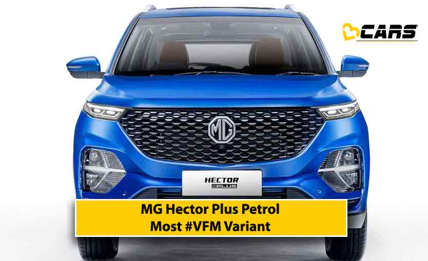 2020 MG Hector Plus Petrol