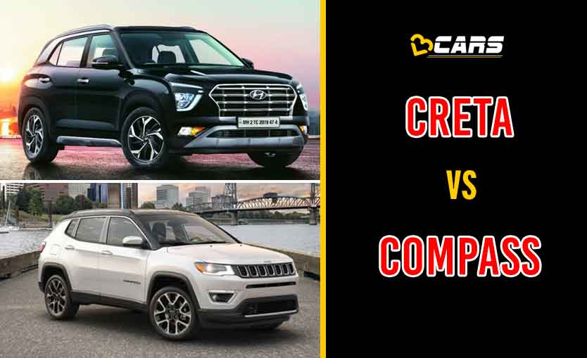 2020 Hyundai Creta vs Jeep Compass