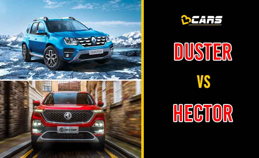2020 Renault Duster vs MG Hector
