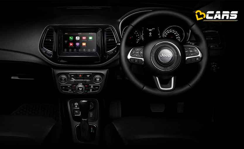 Jeep Compass Night Eagle Interior