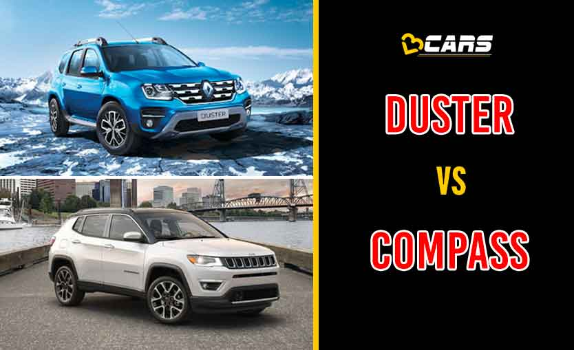 2020 Renault Duster vs Jeep Compass