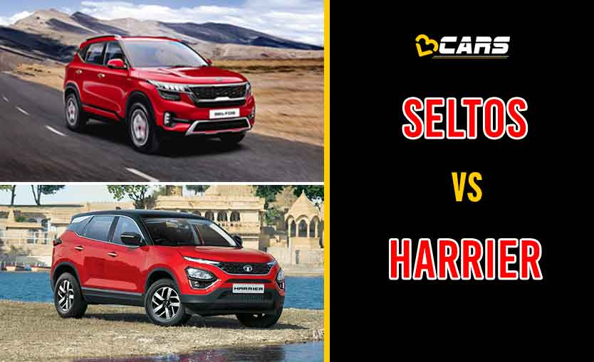 2020 Kia Seltos vs Tata Harrier