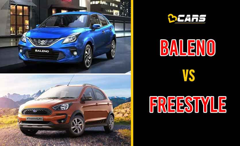 2020 Maruti Suzuki Baleno vs Ford Freestyle