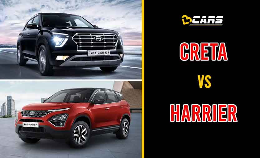 2020 Hyundai Creta vs Tata Harrier