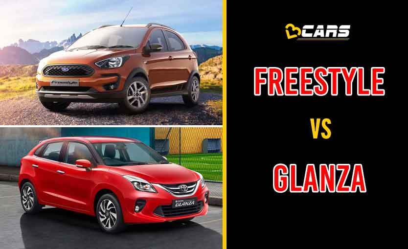 2020 Ford Freestyle vs Toyota Glanza