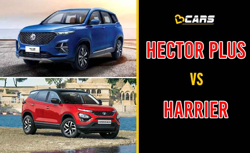2020 MG Hector Plus vs Tata Harrier