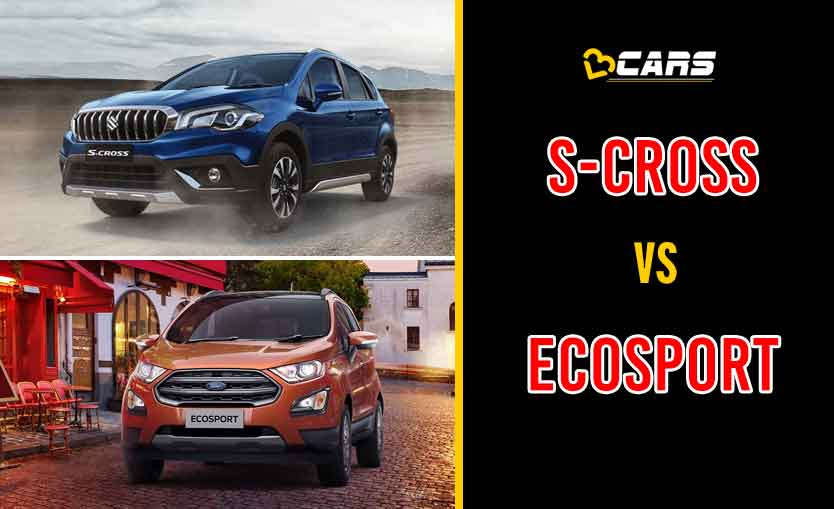 2020 Maruti Suzuki S-Cross vs Ford EcoSport