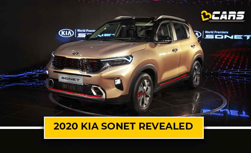 Kia Sonet Revealed