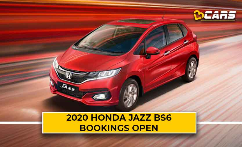2020 Honda Jazz BS6