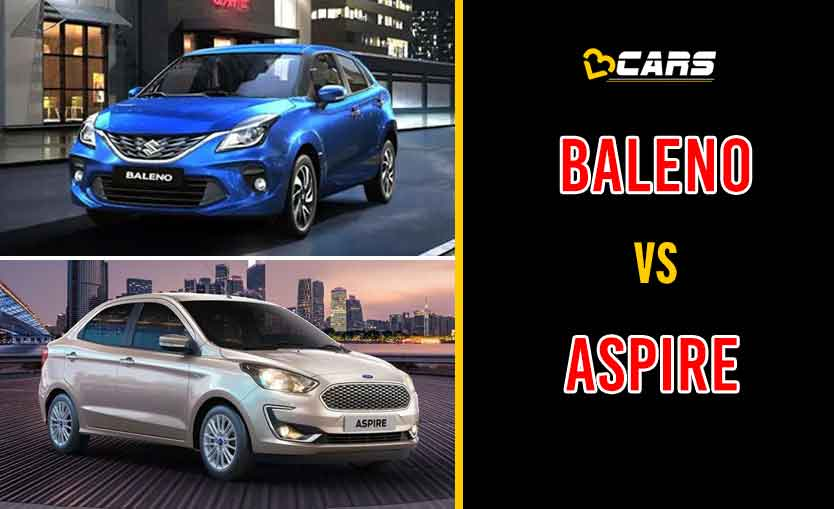 2020 Maruti Suzuki Baleno vs Ford Aspire