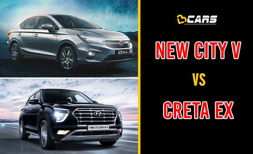 New Honda City V vs Hyundai Creta EX