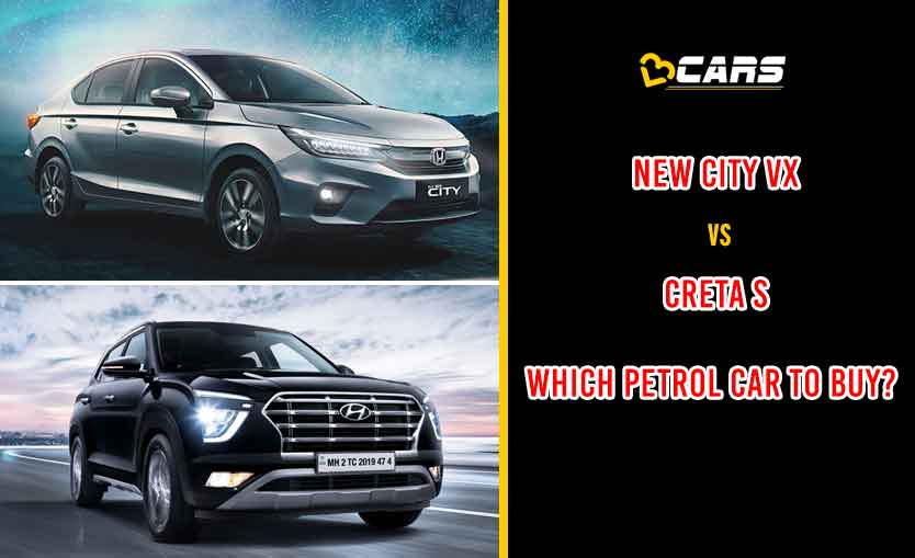 New Honda City VX vs Hyundai Creta S