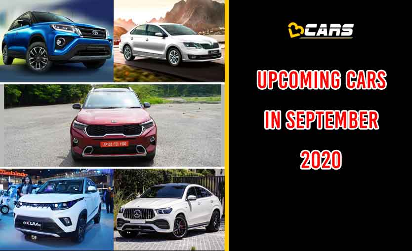 New Upcoming Cars in September 2020