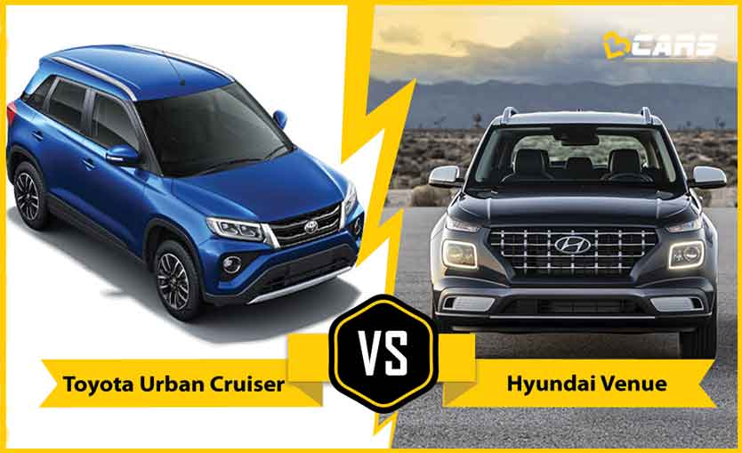 Toyota Urban Cruiser vs Hyundai Venue