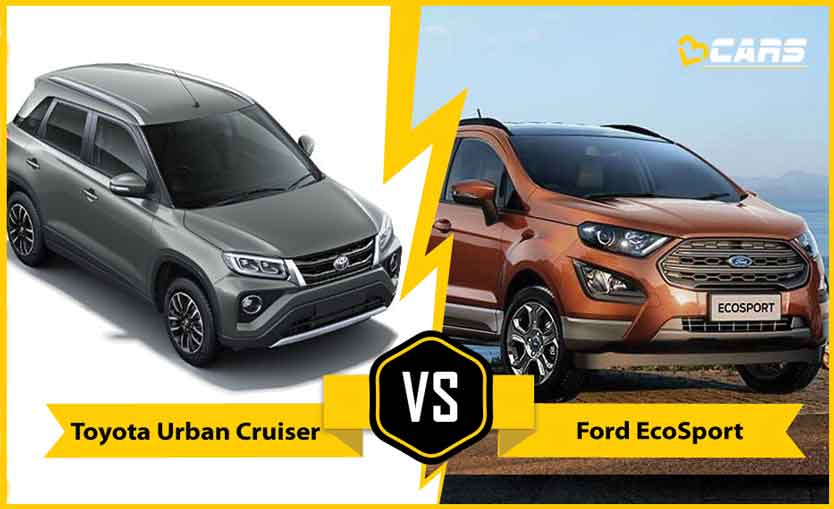 2020 Toyota Urban Cruiser vs Ford EcoSport