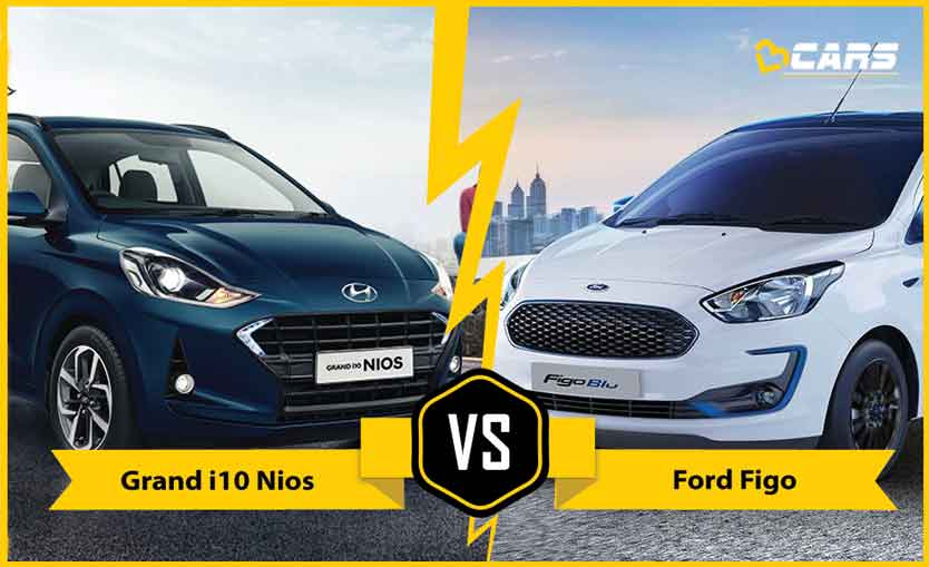 2020 Hyundai Grand i10 Nios vs Ford Figo