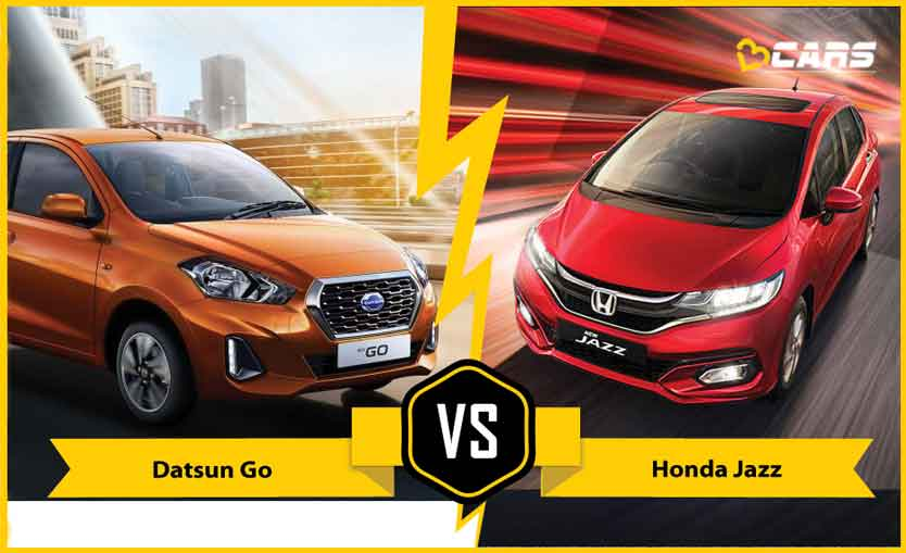 2020 Datsun GO vs Honda Jazz