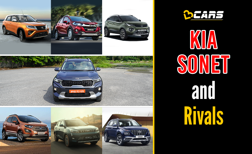 Kia Sonet 2020 vs Competition
