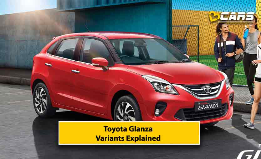 Toyota Glanza Variants Explained