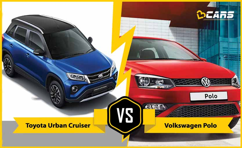 2020 Toyota Urban Cruiser vs Volkswagen Polo