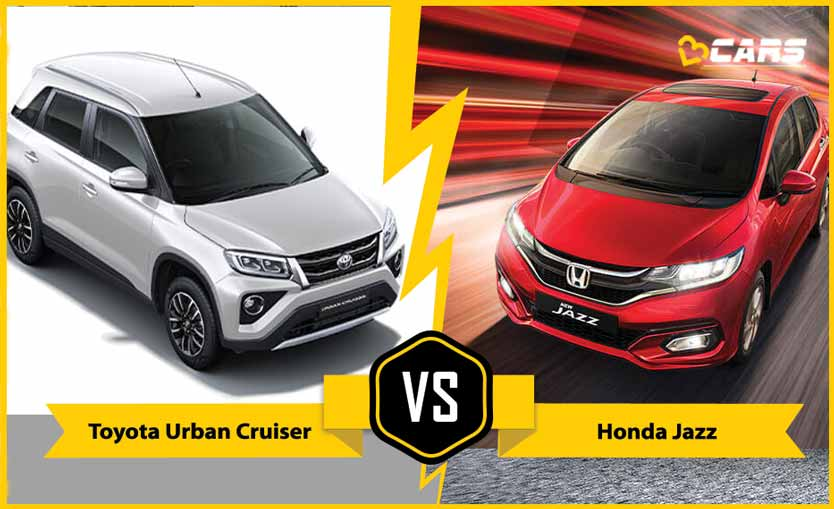 2020 Toyota Urban Cruiser vs Honda Jazz