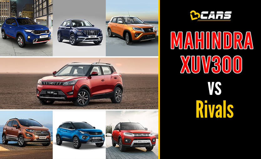Mahindra XUV300 vs Competition