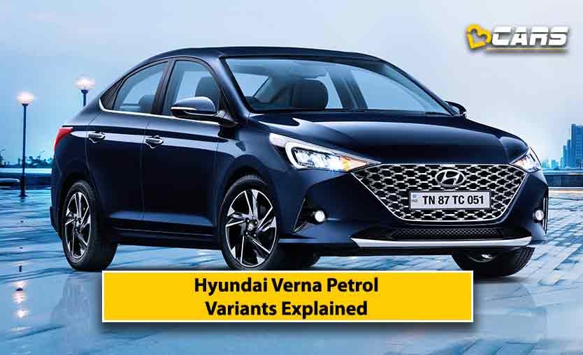 Hyundai Verna Petrol Facelift Variants Explained