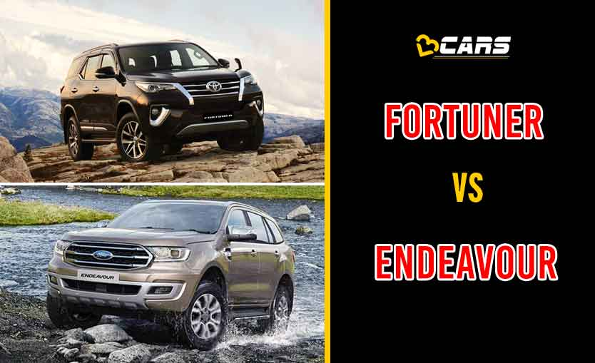 2020 Toyota Fortuner vs Ford Endeavour