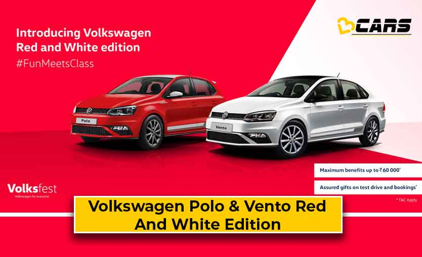 Volkswagen Polo & Vento Red And White Edition