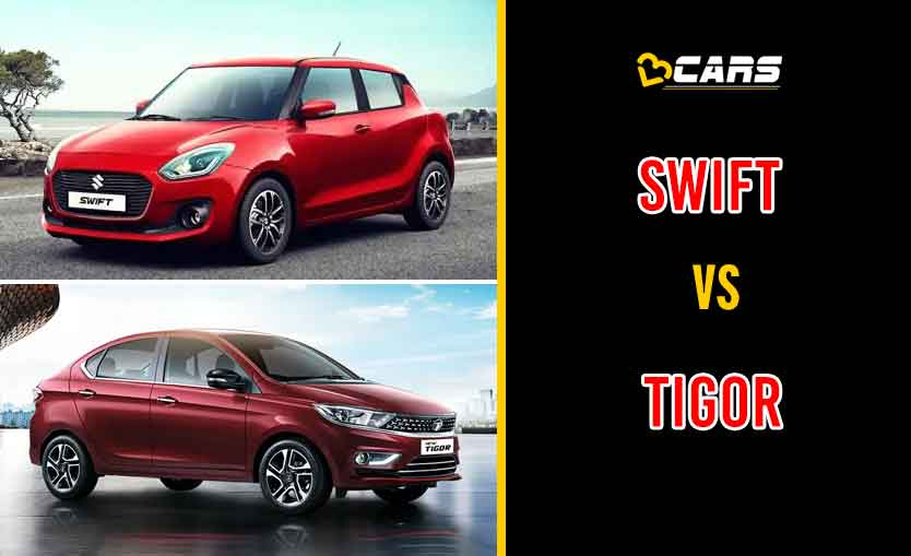 2020 Maruti Suzuki Swift vs Tata Tigor