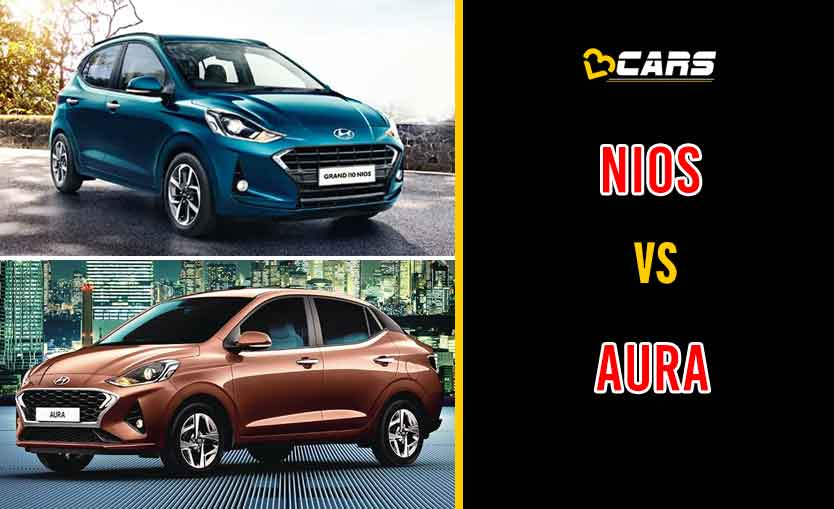2020 Hyundai Grand i10 Nios vs Aura