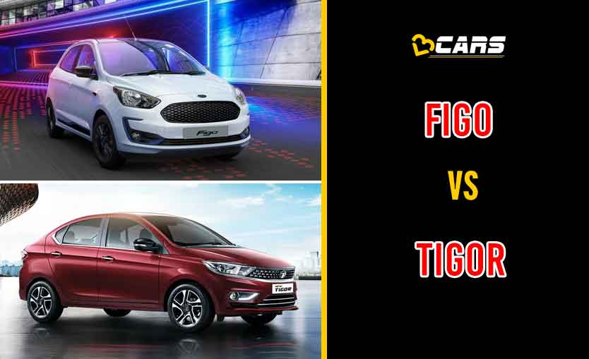 2020 Ford Figo vs Tata Tigor