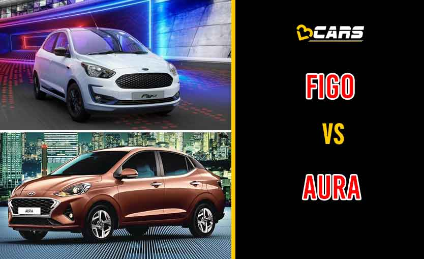 2020 Ford Figo vs Hyundai Aura