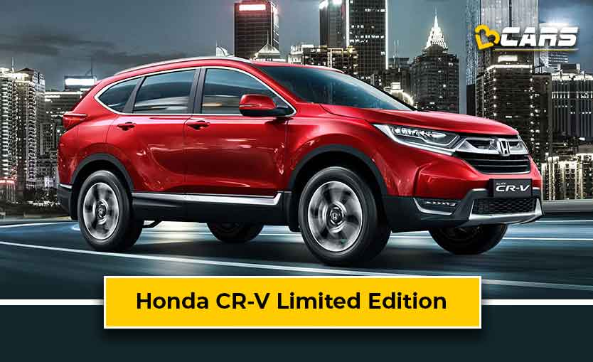 Honda CR-V Limited Edition