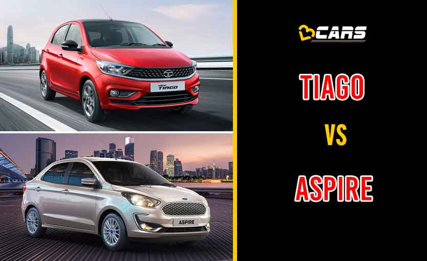 2020 Tata Tiago vs Ford Aspire