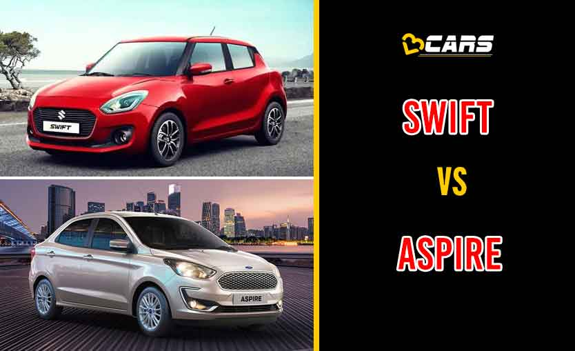 2020 Maruti Suzuki Swift vs Ford Aspire