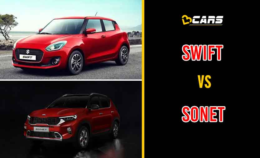 2020 Maruti Suzuki Swift vs Kia Sonet