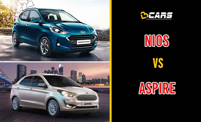 2020 Hyundai Grand i10 Nios vs Ford Aspire