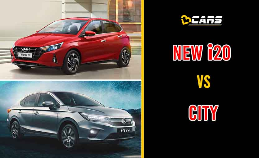 New Hyundai i20 vs New Honda City 5th Gen