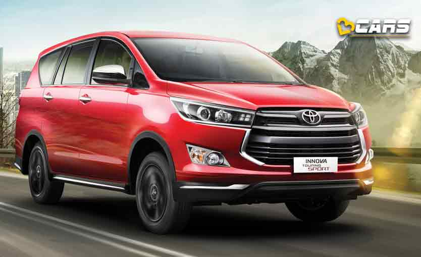 2020 toyota innova crysta facelift unofficial bookings